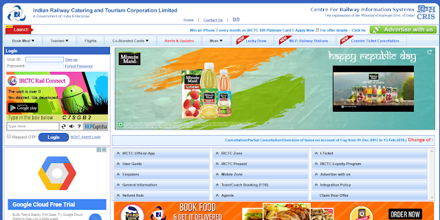 How To Create IRCTC Account Very Easily and Booked Your Train Online.