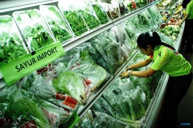 BPS Catat Impor Sayuran Naik USD 57 Juta, Terbesar dari China