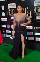 Hansika Motwani in Glittering Deep Neck Transparent Leg Split Purple Gown at IIFA Utsavam Awards 010.JPG