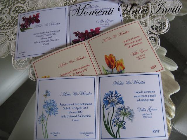 floral1 Partecipazioni card linea florealeLinea Floreale