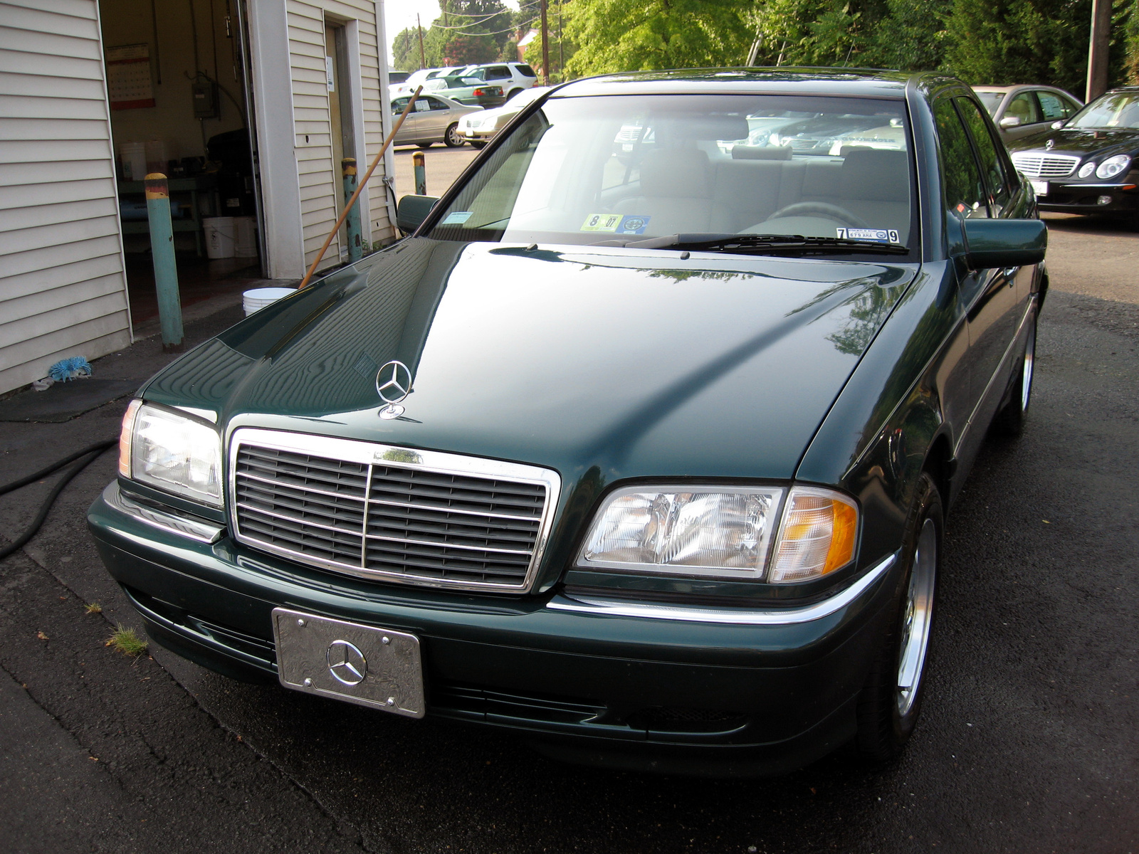 Mercedes Benz C Class Owners manual 2000