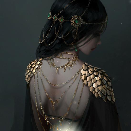 Fantasy / Woman Wallpaper Engine