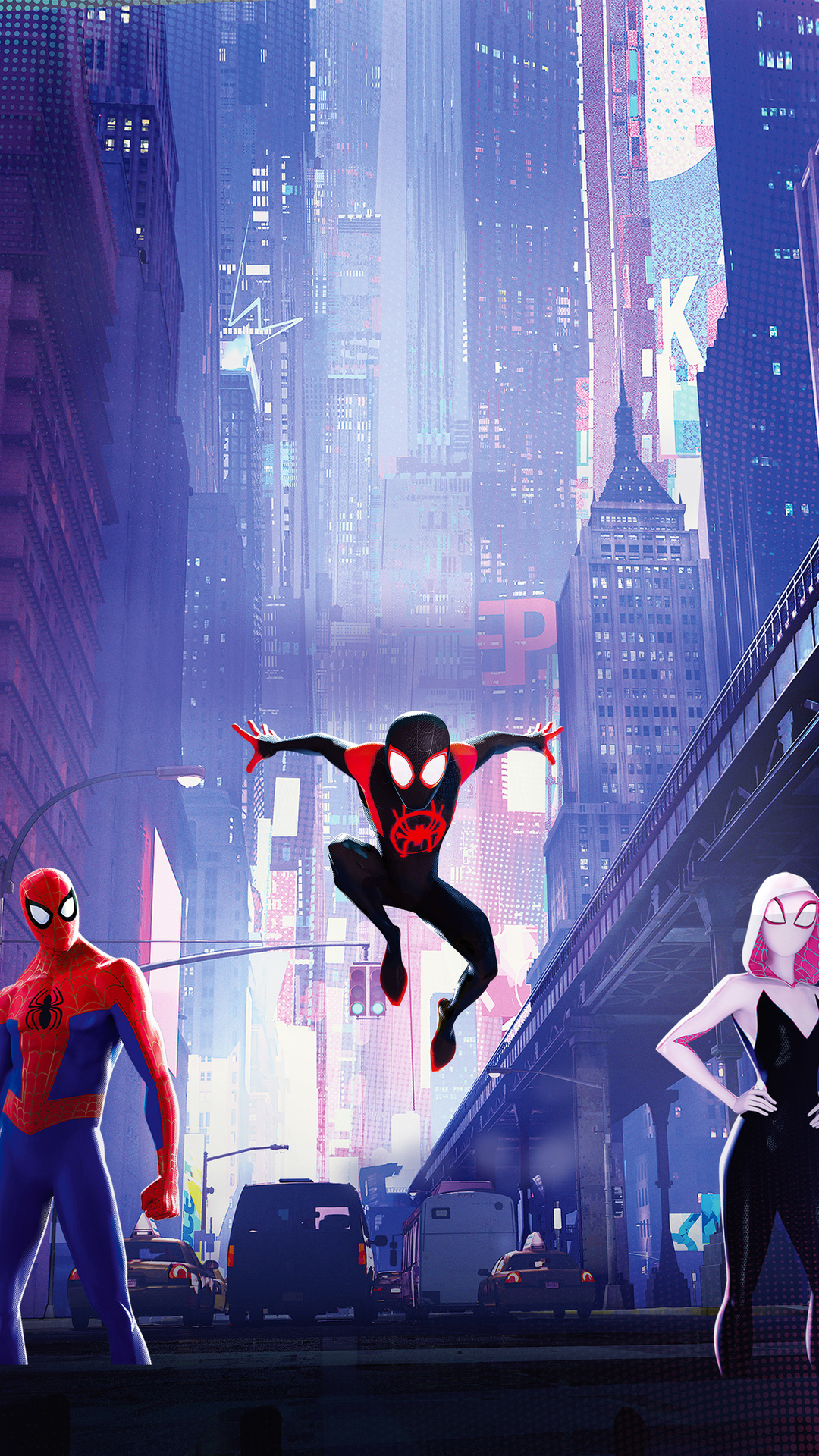 Spiderman Into The Spiderverse Wallpaper