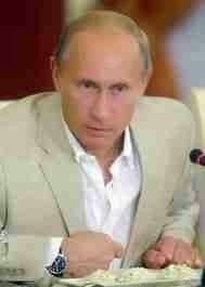 Photo of Vladimir Putin provided by the Kremlin for my article Putin is not the most dangerous man in the world or the biggest threat to the United States.