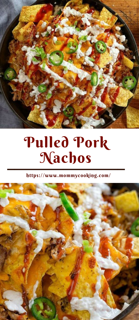 Pulled Pork Nachos #dinner #recipe
