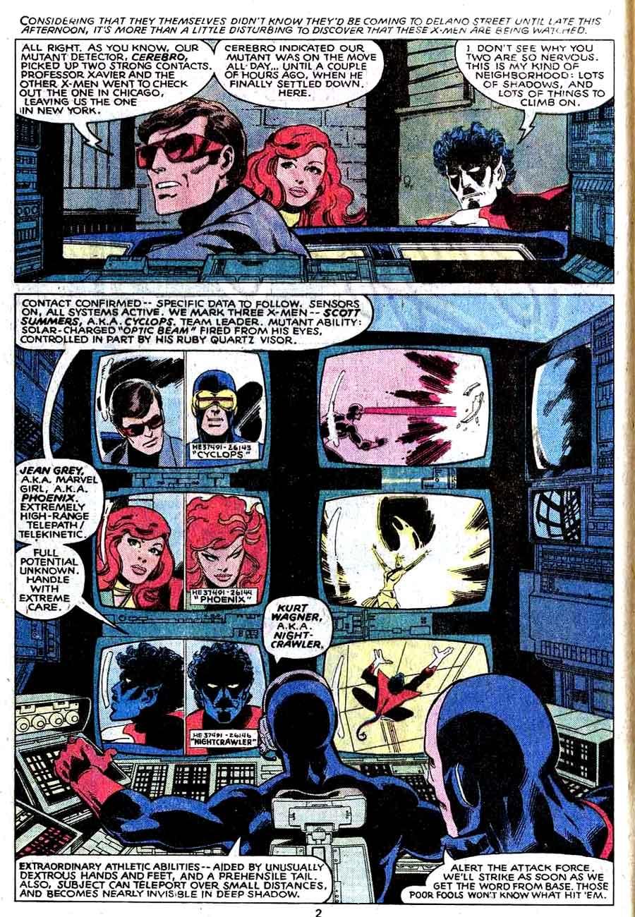 X-men v1 #130 marvel comic book page art by John Byrne