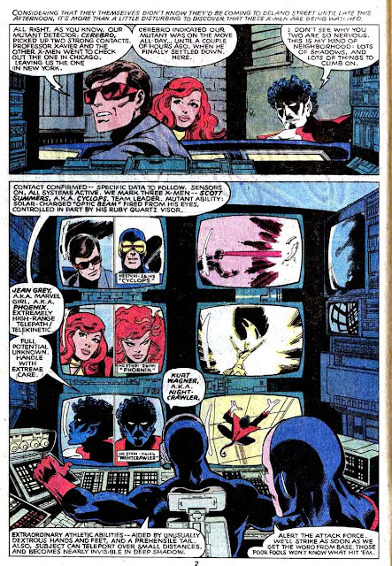 X-men v1 #130 marvel comic book page art by John Byrne
