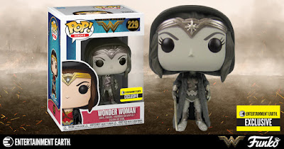 Entertainment Earth Exclusive Wonder Woman Movie Cloak Sepia Edition Pop! Vinyl Figure by Funko