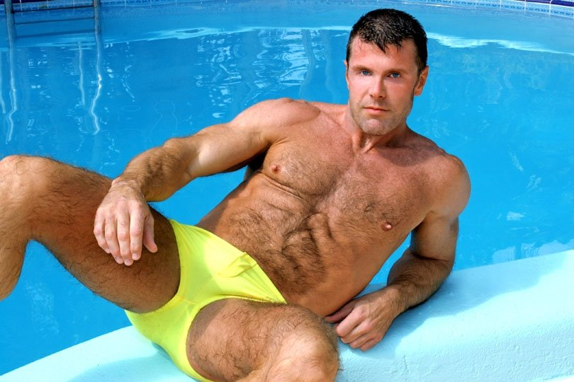 wet speedo bulges