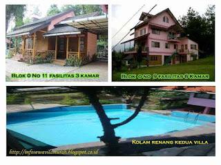 Penginapan villa murah lembang untuk keluarga