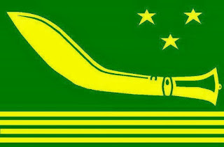 Gorkha National Liberation Front (GNLF) flag