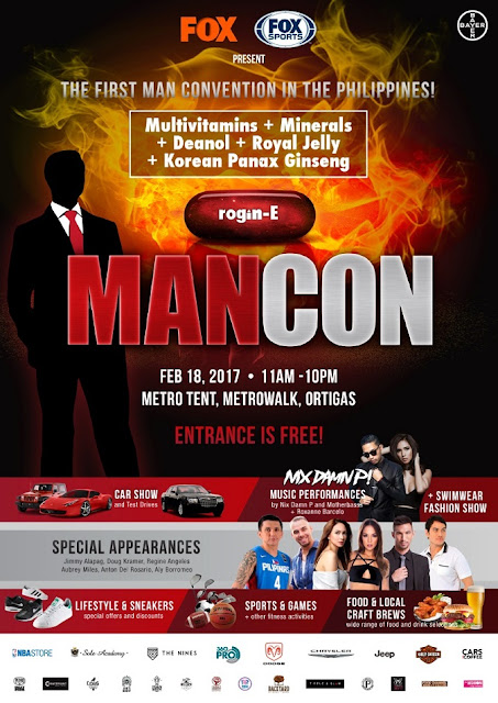 Rogin-E first-ever ManCon