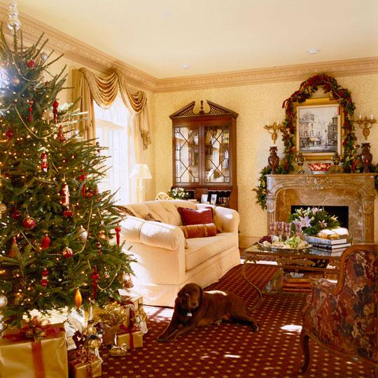 New Home Interior Design: Decorating: Holiday Mantels