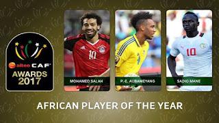 حفل توزيع جائزة افضل لاعب أفريقي 2018 ، الثلاثاء 8/1/2019  الكاف CAF