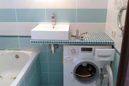 How To Put Washing machine in a small bathroom In the Right way for Space Saving
