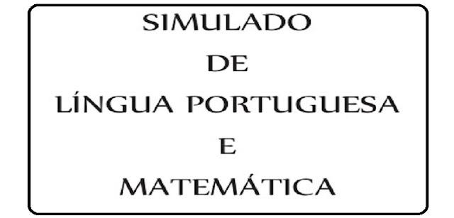 Simulado de Língua Portuguesa e Matemática para 2º ano