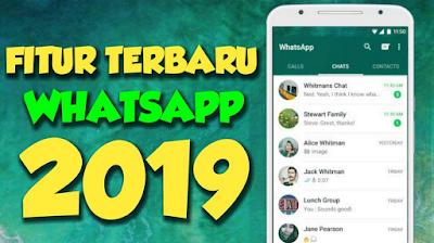 Inilah Fitur Terbaru Whatsapp 2019: Mode gelap, kunci sidik jari, dan pengaya lainnya