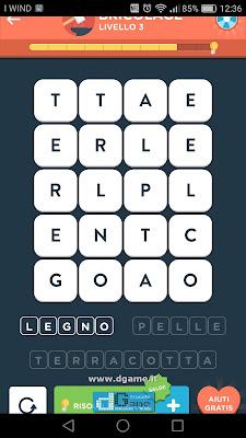 WordBrain 2 soluzioni: Categoria Bricolage (4X5) Livello 3