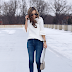 Flutter Sleeves + Favorite Jeans