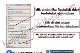 Cara Membuat Bootable Flashdisk Windows 7/8/10 dengan Rufus