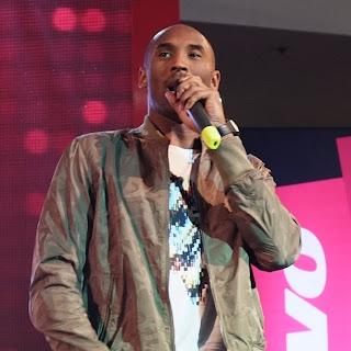 Kobe Bryant Speaking During Press Conference in Manila