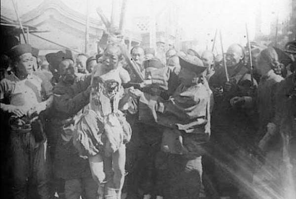 Hasil gambar untuk gambar eksekusi Lingchi