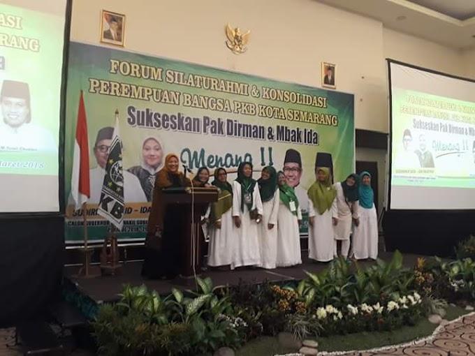 Forum Silaturahmi dan Konsolidasi Perempuan Bangsa PKB Kota Semarang