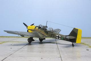 Junker Ju-87 d'Italeri au 1/48.