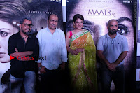 Bollywood Actress Raveena Tandon in Transparent Green Saree at Trailer Launch Of Film Maatr  0033.JPG