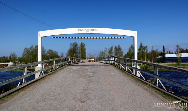 Eteläkylän silta Pyhäjoki,Pyhäjoki municipality