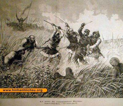 Henri Rivière trong trận Cầu Giấy năm 1883