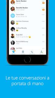 L'app Skype per iPhone si aggiorna alla vers 6.9.1