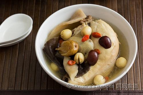木耳淮山煲雞湯 Wood Ear and Chicken Soup02