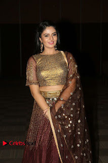 Actress Anchor Sri Mukhi Pictures at Araku Road Lo Audio Launch  0119