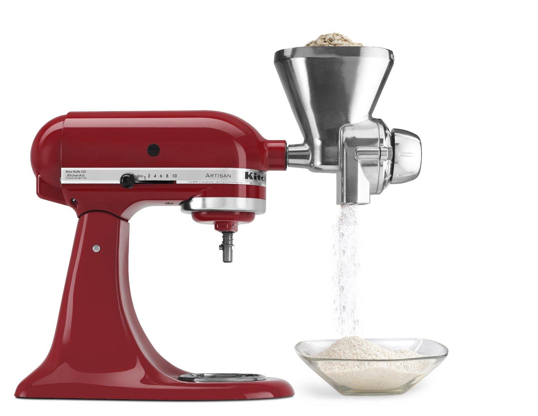 kitchen aide mixer attachments aid coffee maker kitchenaid kgm stand grain mill attachment on sale