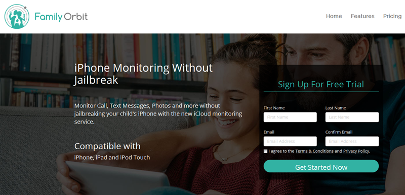Family Orbit –iPhone Monitoring Software