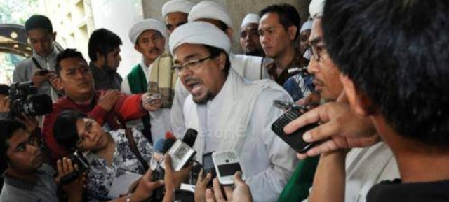 Habib Rizieq Minta Prabowo Jangan Bertemu Koalisi Jokowi, Kecuali Akui Kemenangan Prabowo