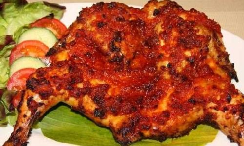 Resep Membuat Ayam Bakar Taliwang