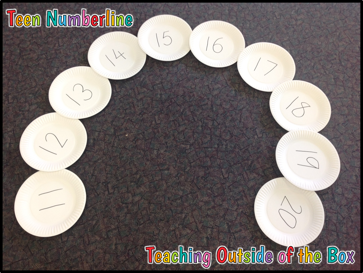 Teaching Outside of the Box...: Exploring Teen Numbers