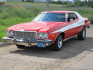 The Ford Gran Torino of Starsky and Hutch