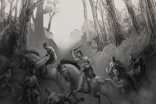 Kisah Legenda Ciung Wanara, Pertentangan Dua Saudara Kerajaan Besar