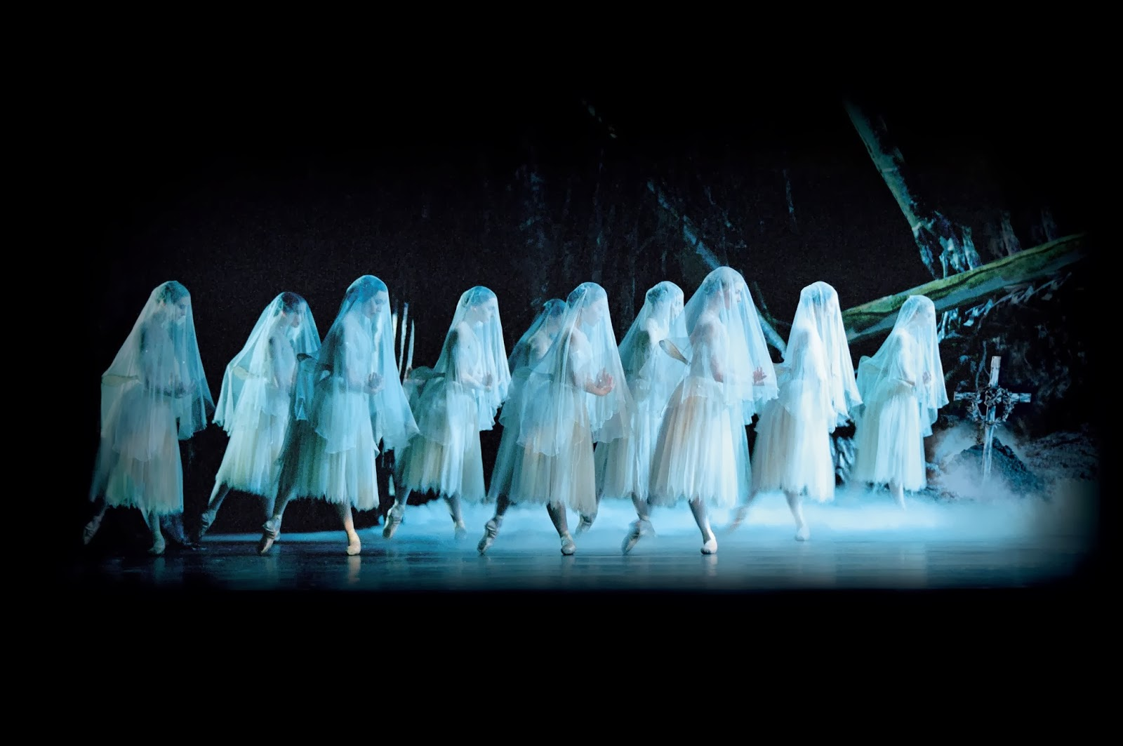 Giselle ballet at the Royal Opera House