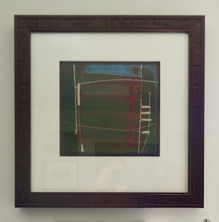 Paperworks framed by Candace Larsen, master framer at CK Gallery