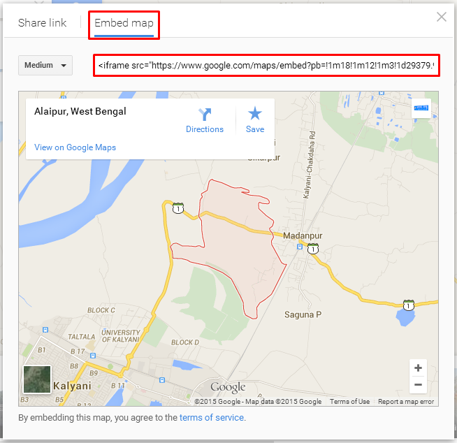 how to add google maps to html