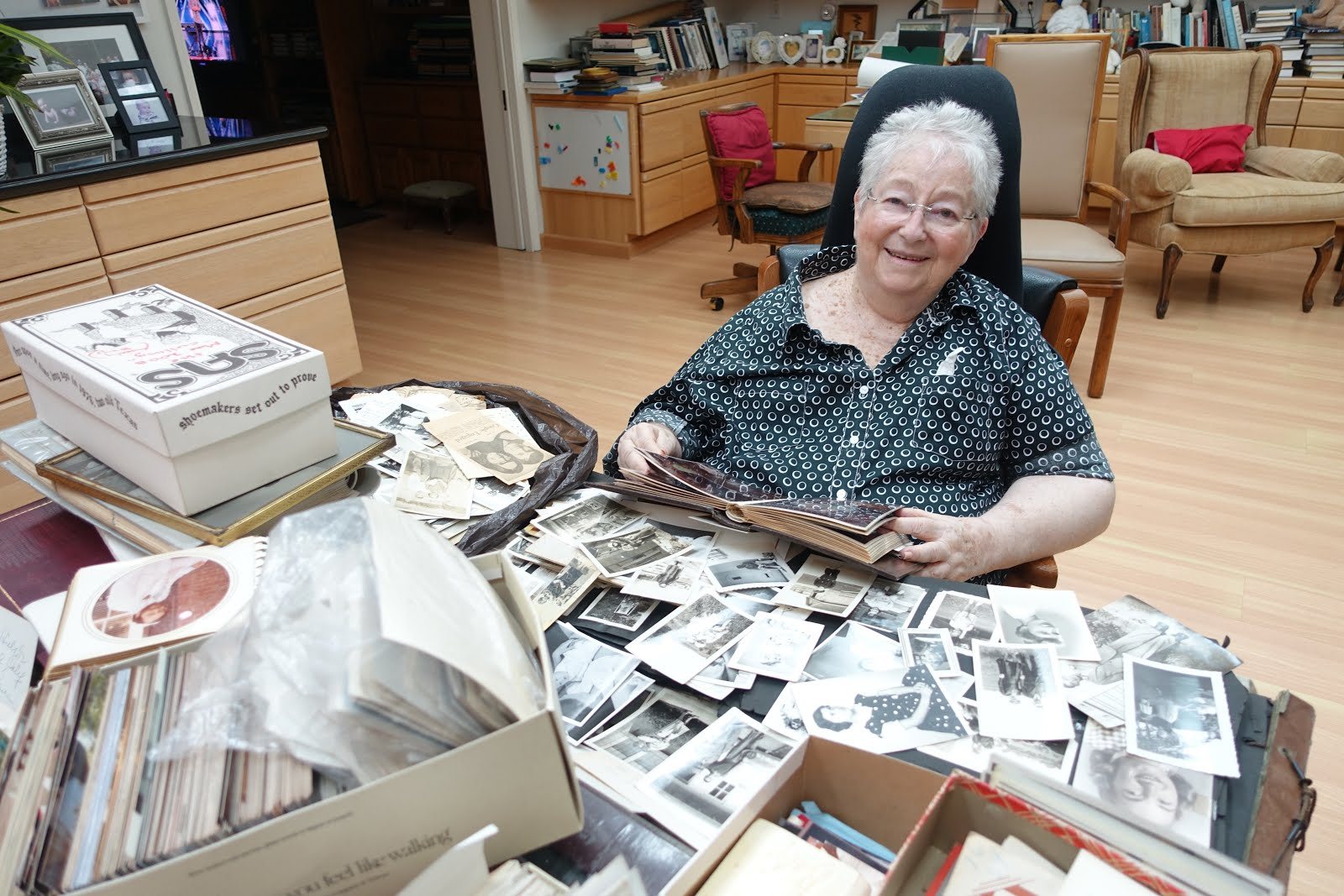 The Friedman Archives Blog What To Do With Old Family Snapshots