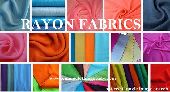 Rayon fabric image