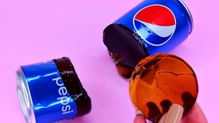 How To Make Real Pepsi Drinking Water Pudding Jelly Cooking Learn the Recipe DIY