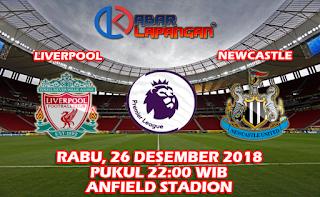 Prediksi Bola Liverpool vs Newcastle United 26 Desember 2018