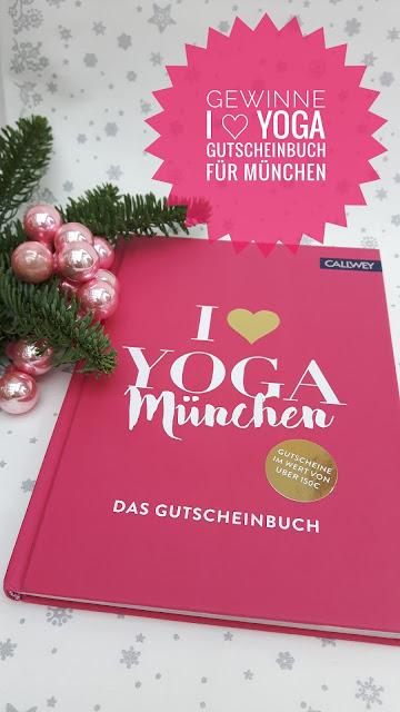 Gutscheinbuch I LOVE YOGA München