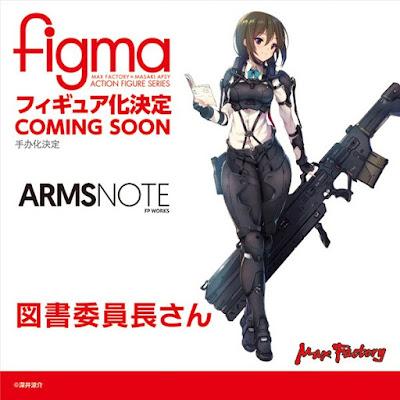 Figma Tosholincho-san de Arms Note
